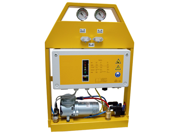 Portable Vacuum Lifting Equipment : Handy portable vacuum pumps