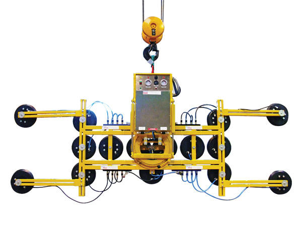 Hydraulica 1200-B Dual Circuit Glass Vacuum Lifter
