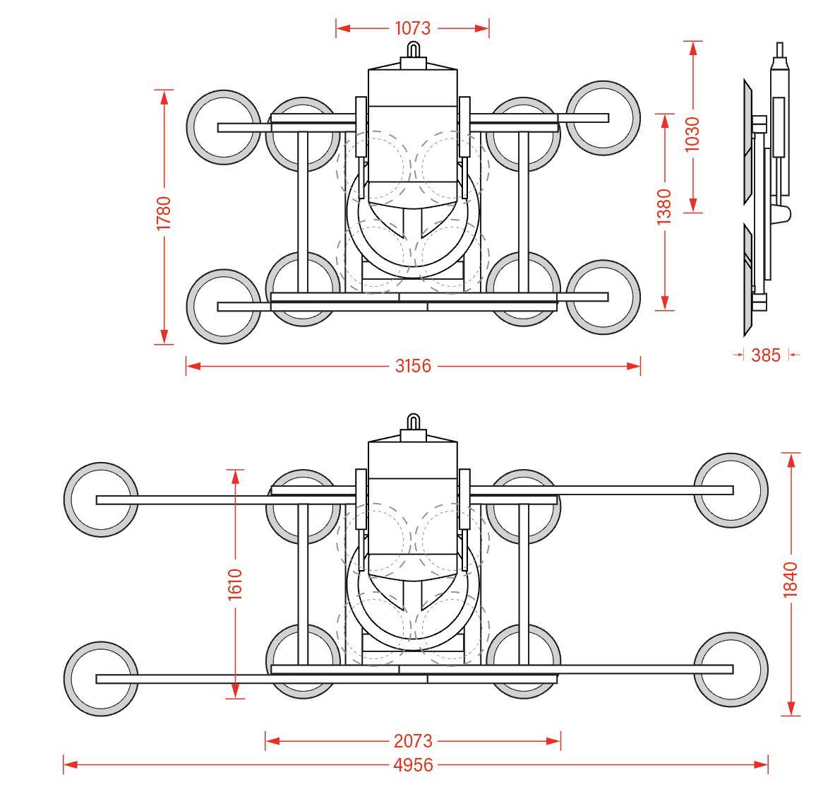 Hydraulica 2600 Technical Diagram