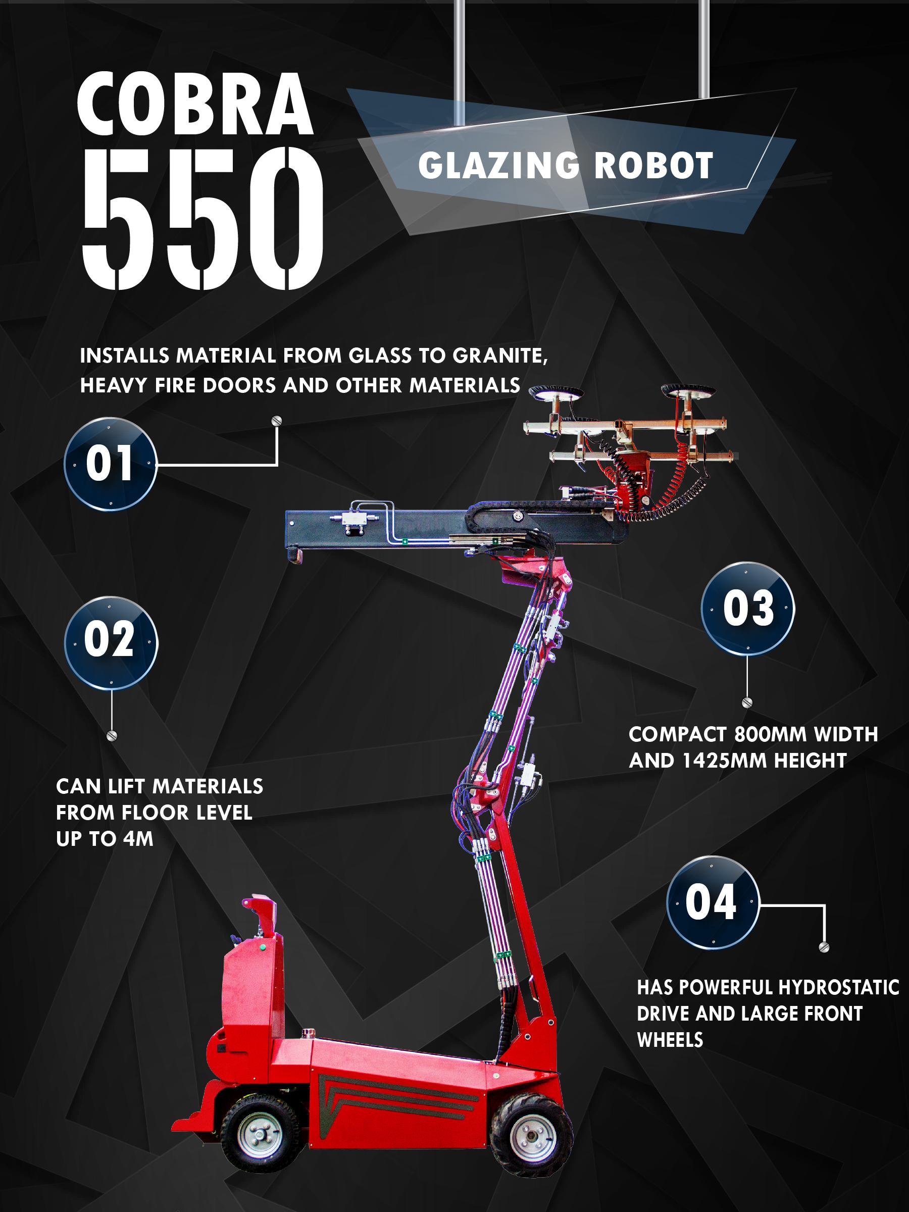 Cobra 550 Cover Infographic