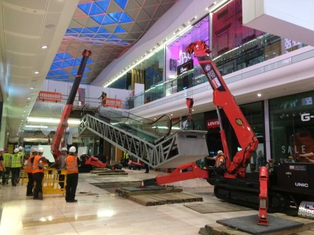 GGR Spider Cranes for Tandem Lift