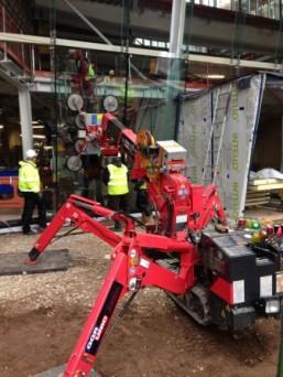 GGR Glazes New Christie Building Manchester