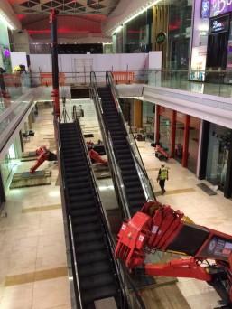 GGR Spider Cranes for Escalator Lift