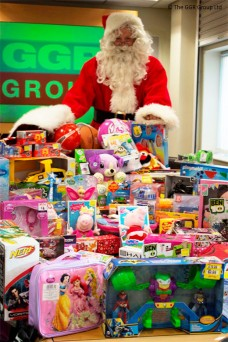 GGR Donates Toys to Wood Street Mission