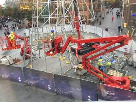 UNIC Spider Crane URW-706 Liverpool