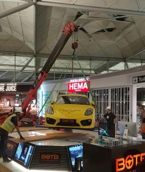 Car Hoist & Spider Crane