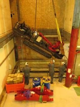 UNIC URW-706 Spider Crane Goes Nuclear 1