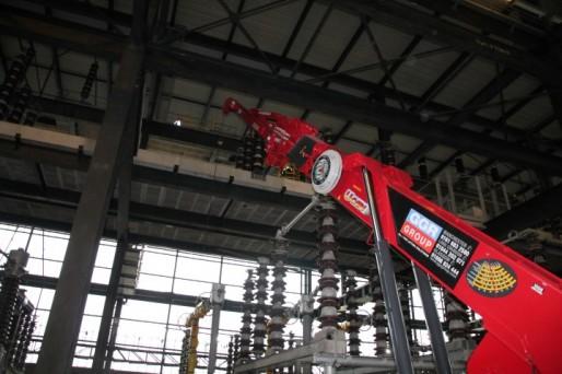 Crane Hire 1006 Power Station