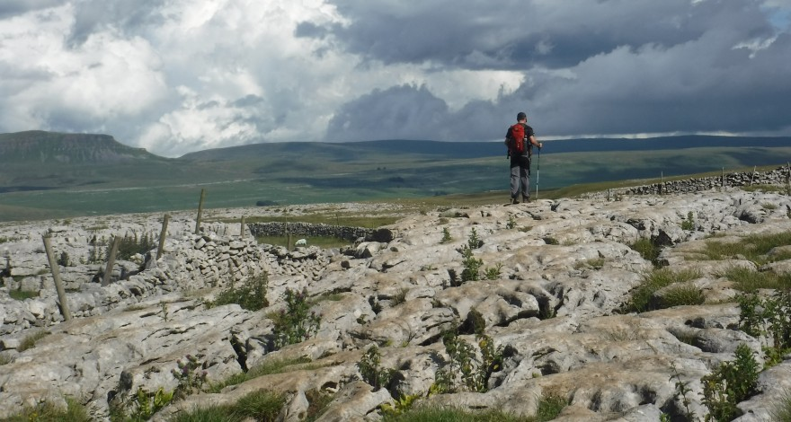 Gary taking on the Yorkshire 3 Peaks