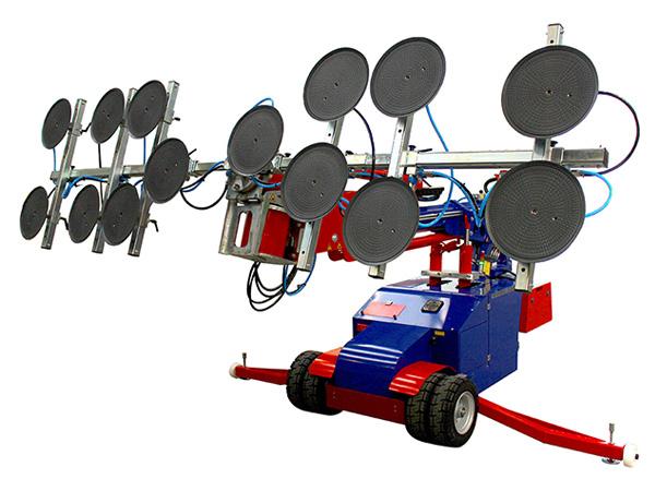 Oscar 1400 Glazing Robot