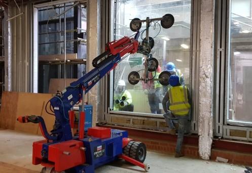 Oscar 1000 Glazing Robot