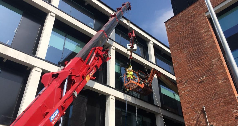 Overhang Glazing