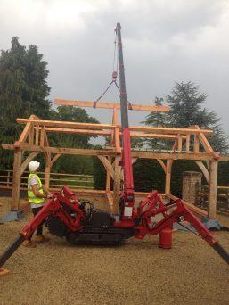 UNIC URW-295 Lifting Timber