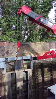 Chester Lock Gates Replacement