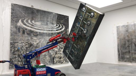 Oscar 1400 Lifting Artwork