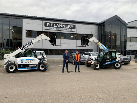Six Electric Telehandlers for Flannery Plant Hire