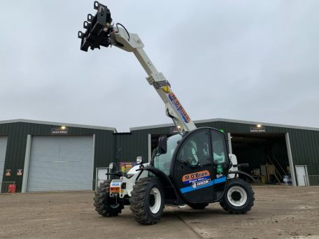 M Obrien Purchase Two Electric Telehandlers