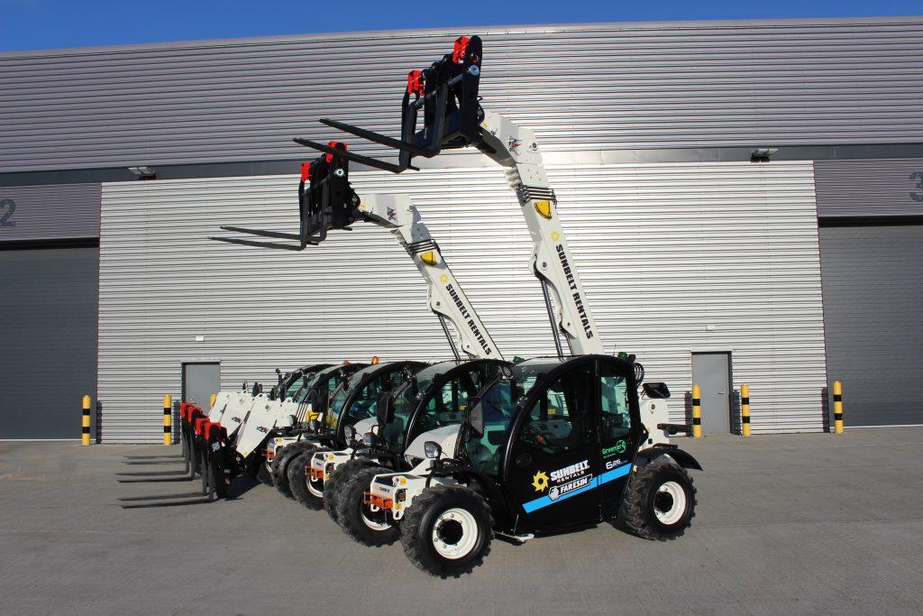 Sunbelt Electric Telehandler Purchase