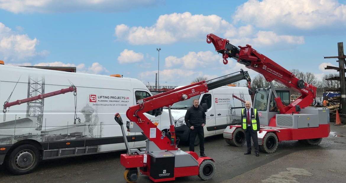 Lifting Projects UK Purchase Pick and Carry Cranes