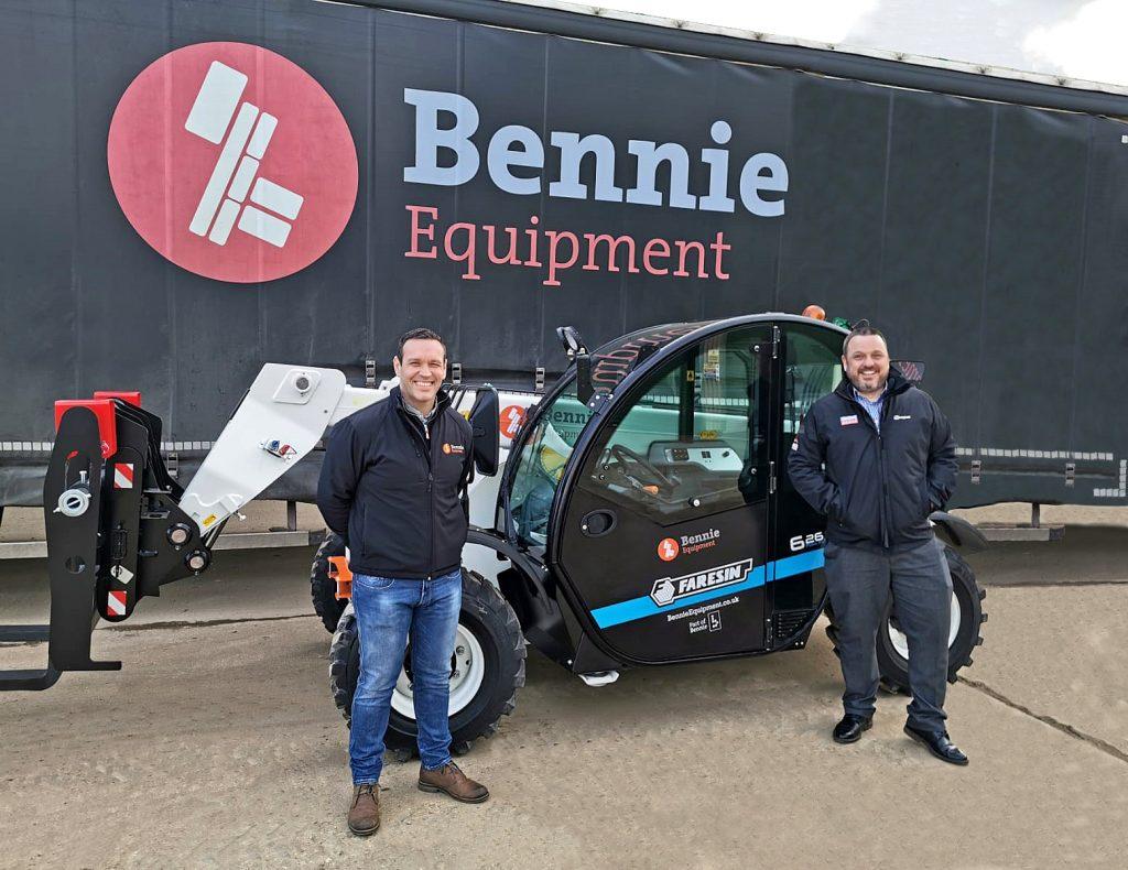 Bennie Equipment Purchase Electric Telehandler