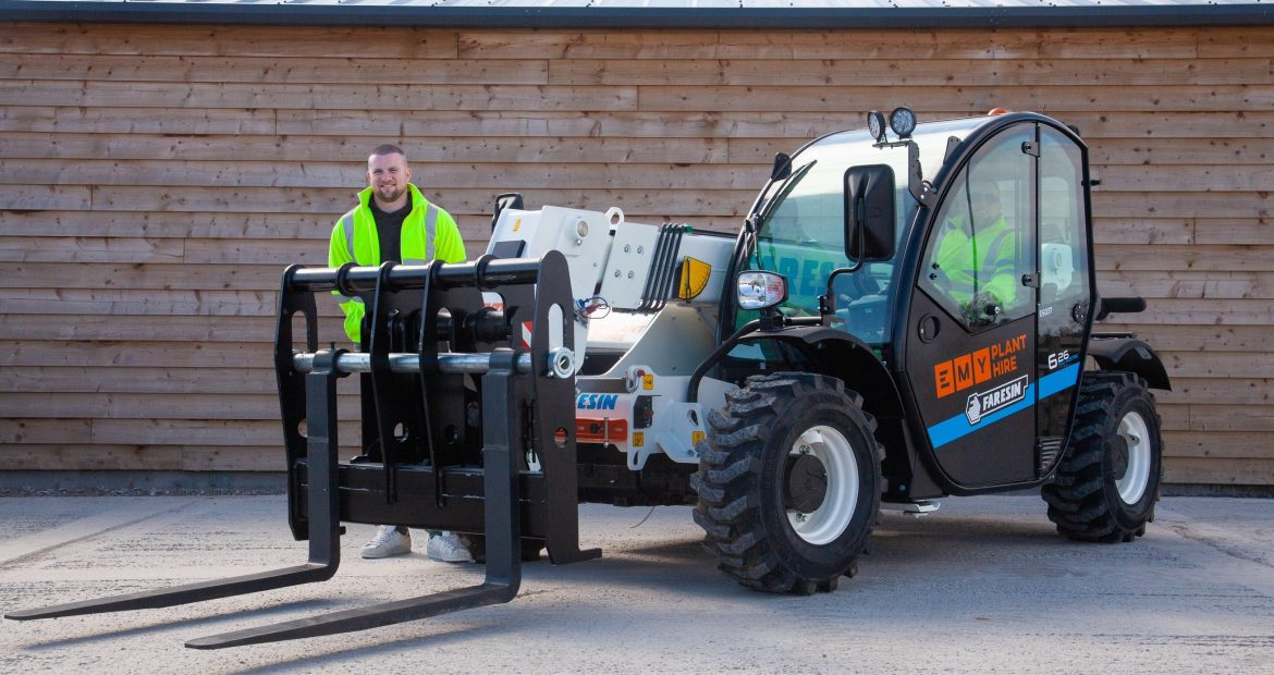 EMY Plant Hire Electric Telehandler Purchase