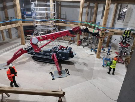 All the world's a stage for GGR's innovating lifting solutions