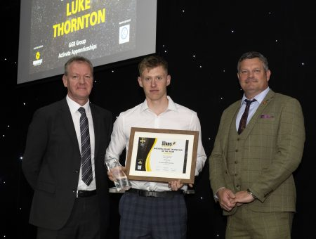 GGR's apprentice wins National Award